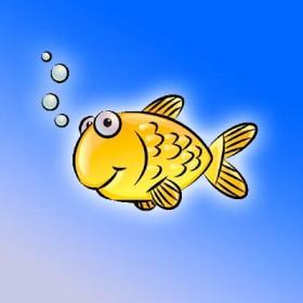 تعلم رسم سمكة