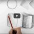 كيفية مسك القلم والتظليل