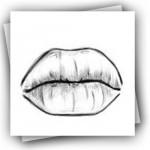 كيفية رسم الفم