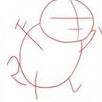كيف ارسم البوكيمون سكويرل