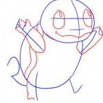 كيفية رسم البوكيمون سكويرل