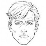 تعلم رسم وجه