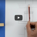 تقسيم الورقة أو اللوحة بشكل أفقي أو عامودي