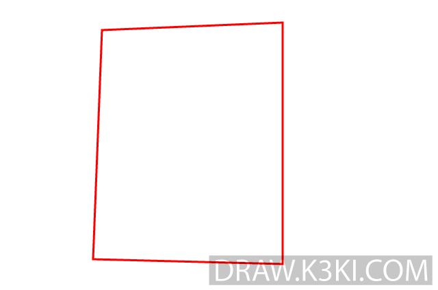 تعلم رسم الكعبة المشرفة