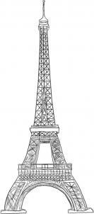 تعلم الرسم تعلم رسم برج إيفل