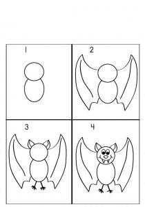 تعلم رسم خفافيش