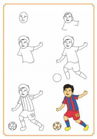 طريقة رسم ملعب كرة القدم للاطفال Gf44c69 Gfcef Com