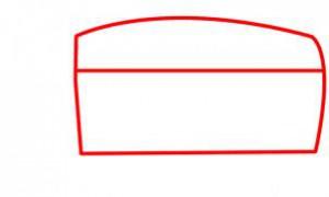 كيفية رسم باص المدرسة