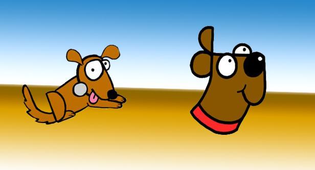 تعلم كيفية رسم كلب ابتداءاً من كلمة Dog