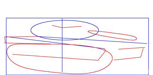 كيفية رسم دبابة