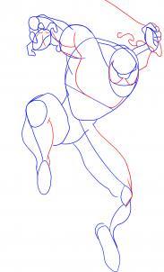كيفية رسم سبايدر مان