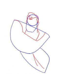 تعلم رسم سوبر مان superman