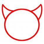تعلم رسم الوجه الشرير 1