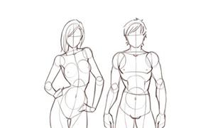 درس تعليم رسم جسم للمبتدئين في الرسم مع ملاحظات هامة تعلم الرسم