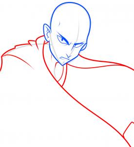 رسم شخصية سايتاما