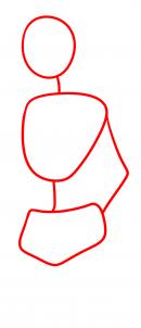 كيفية رسم شخصية فتاة