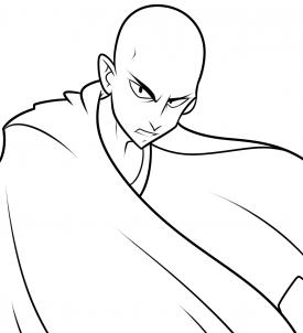 كيف ارسم سايتاما