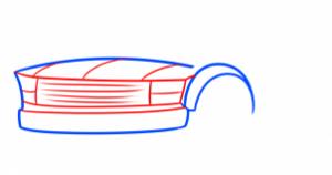 تعلم رسم سيارة -شاحنة2