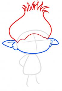 طريقة رسم برانش