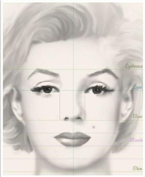 تقنيات رسم أي وجه