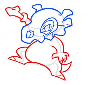 كيفية رسم البوكيمونات