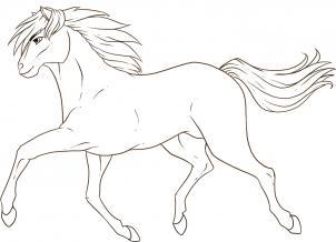 رسم حصان يركض بالخطوات تعليم رسم حصان خطوة بخطوة تعلم الرسم