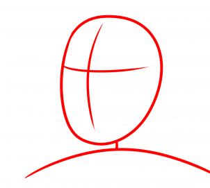 كيفية رسم ترامب