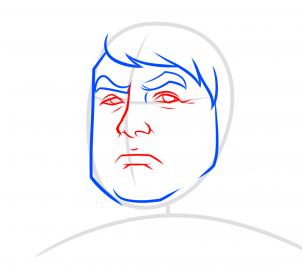 كيف أرسم ترامب