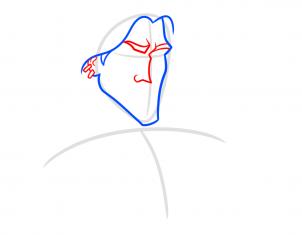 كيف أرسم طرزان