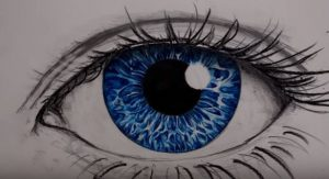 رسمة عين - تعلم رسم العين خطوة بخطوة
