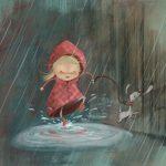 رسم مطر