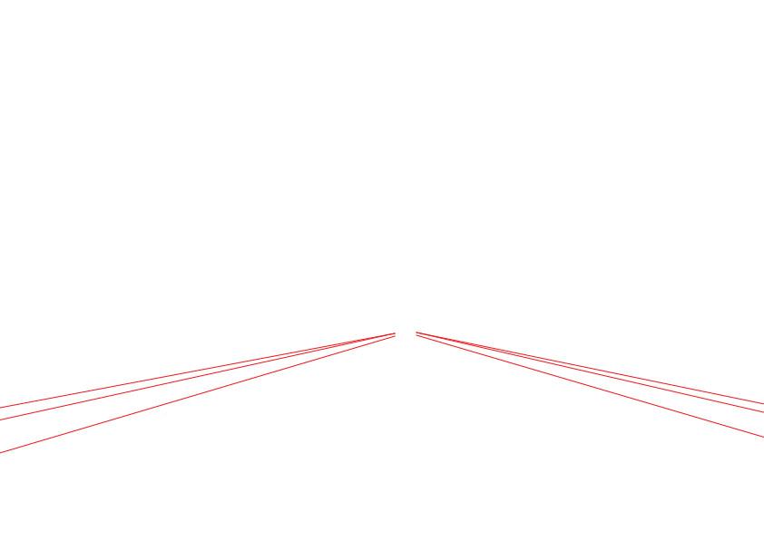 حل وظيفة: رسم شارع ثلاثي الأبعاد مع أشجار