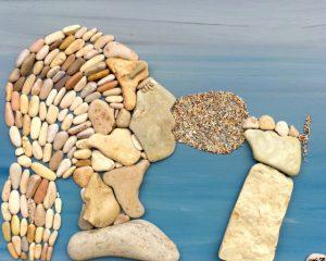 شخص من الحجارة
