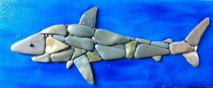 سمكة من الحجارة