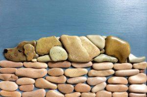 لوحة مميزة من الحجارة