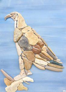 طائر من الأحجار