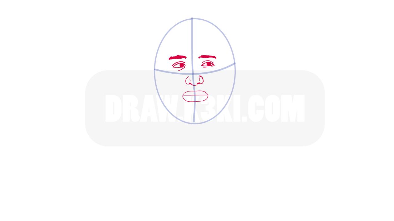 كيفية رسم محمد بن سلمان