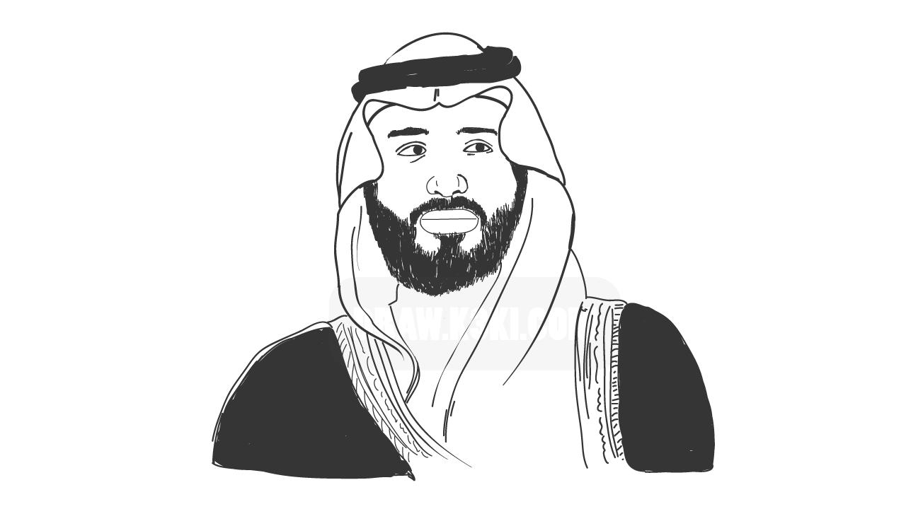 درس رسم ولي عهد السعودية